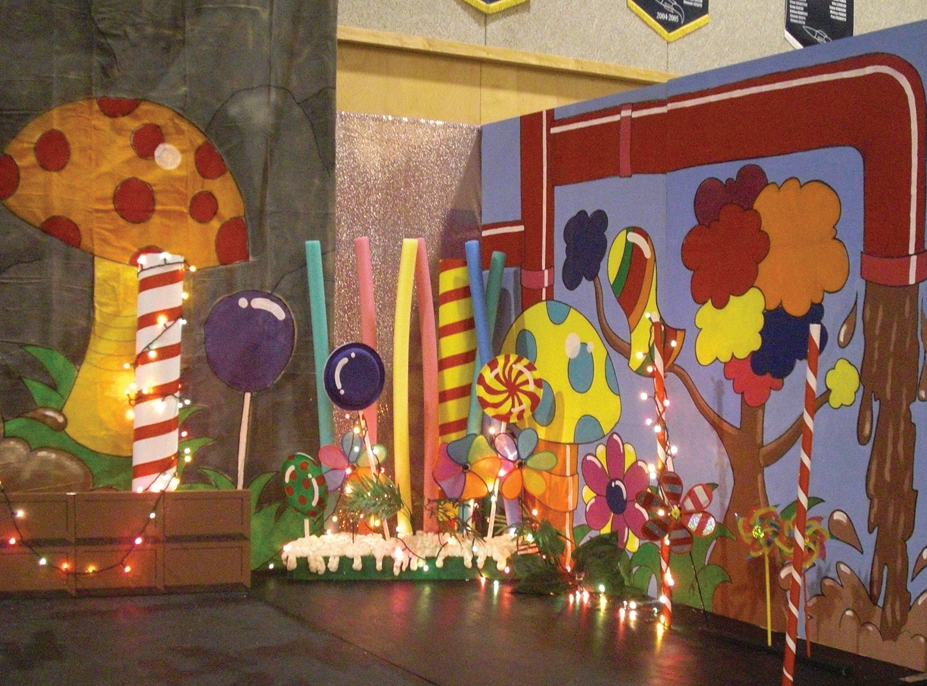 Charlie And The Chocolate Factory Stage Sets