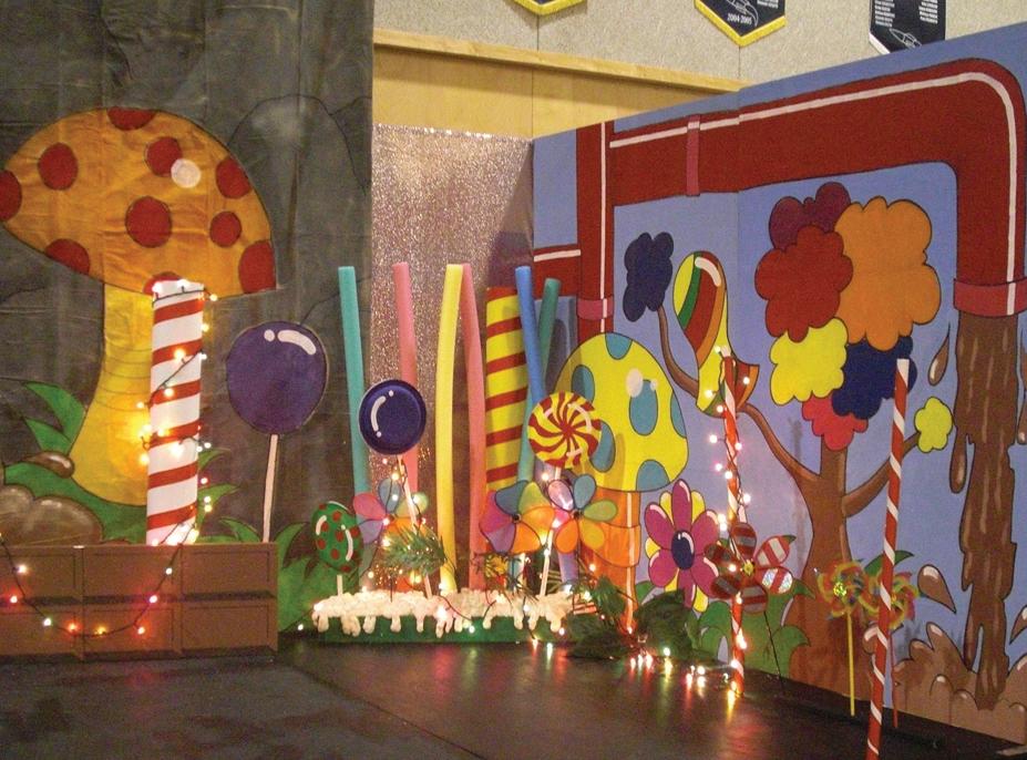 Giant wonka candy