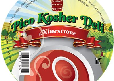Pico Kosher Deli Minestrone