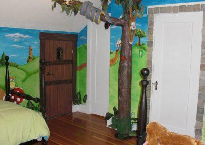 Magic Kingdom Bedroom Mural