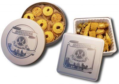 Mansoura Pastries Tins