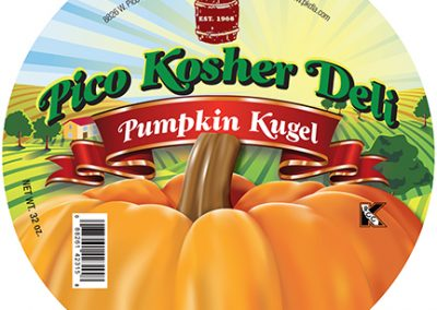 Pico Kosher Deli Pumpkin Kugel