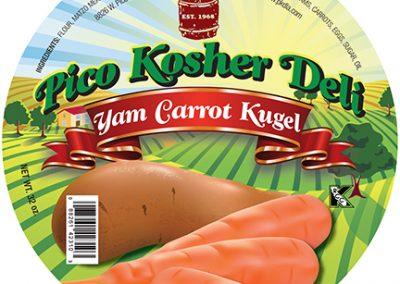 Pico Kosher Deli Yam Carrot Kugel