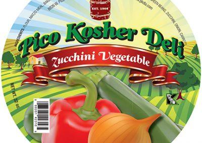 Pico Kosher Deli Zucchini Vegetable