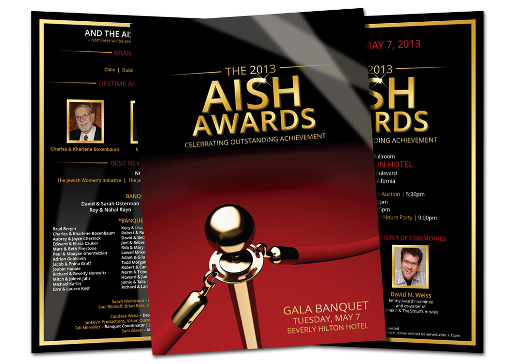 AISH Banquet Invitation